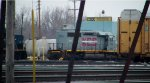 """A """"New"""" B&P SD40-2 in Frontier Yard"""