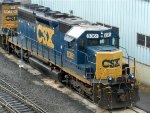 CSXT EMD SD40-2 8361
