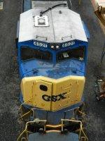 CSXT EMD SD70MAC 4521