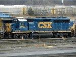 CSXT EMD GP40-2 6923