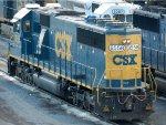 CSXT EMD SD50-2 8558