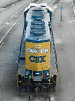 CSXT EMD GP40-2 6152
