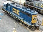 CSXT EMD GP40-2 6229