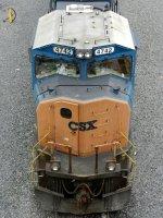 CSXT EMD SD70MAC 4742