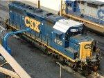 CSXT EMD GP40-2 6129