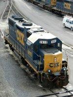CSXT EMD GP38-2 2610