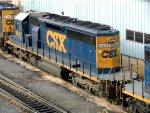 CSXT EMD SD40-2 8842