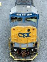 CSXT EMD SD60M 8763