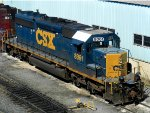 CSXT EMD SD40-2 8061