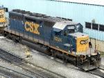 CSXT EMD SD40-2 8324