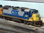 CSXT EMD GP38-2 2807