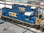 CSXT EMD GP15-1 1563 & EMD GP40-2 6235