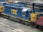 CSXT EMD SD40-2 8488
