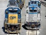 CSXT & Amtrak EMD's