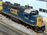 CSXT EMD GP38-2 2786