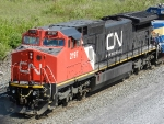 CN GE C40-8W 2197