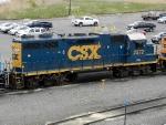 CSXT EMD GP38-2 2572