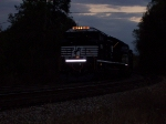 NS 2651 backing up