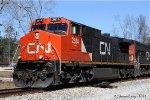 CN C44-9W 2614
