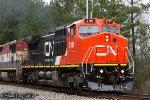 CN C40-8W (former BNSF/ATSF 851)2187