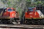 CN C44-9W 2534