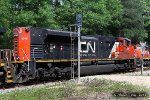 CN SD70M-2 8945