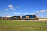 J759 heads south out of Memphis Jct. Yard for evening work