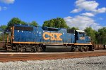 CSX 2685 is the most recent power for Yard Job Y110