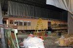 Glasgow Railway Combine 109 during restoration