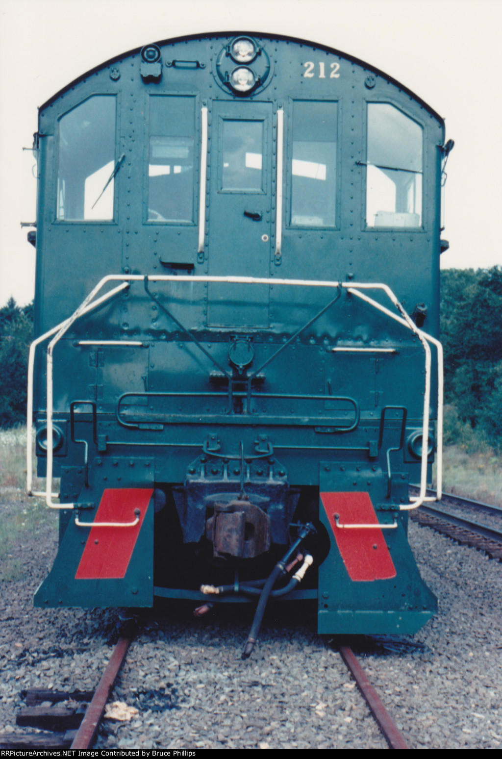 Cab end of Alco S4 212 - MRS enroute to G&U