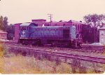 B&M Alco S3 #1187 switches Brightwood Yard