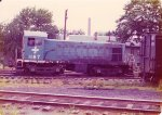 Boston & Maine S3 #1187 at Brightwood yard