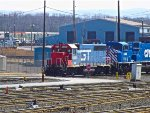 SCRF GT GP40 Sits in Selkirk hooked up to CEFX 130
