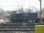 CSX 1106 in Niagara Falls Yard