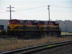 KCS SD70ACe 4123 & 4113