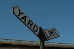 Rio Grande yard limit sign
