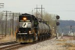 Westbound NS Local Train