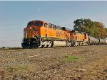 BNSF 7649 In The Evening