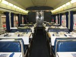 Interior - Amtrak Diner - 8528 prior to departure on Amtrak 20 - the Crescent