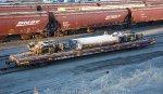 BNSF 169 tank and trucks