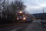 Eastbound ACE Train #10 Departs Pleasanton