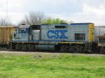 CSX MOW Locomotive
