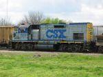 CSX MOW Locomotive