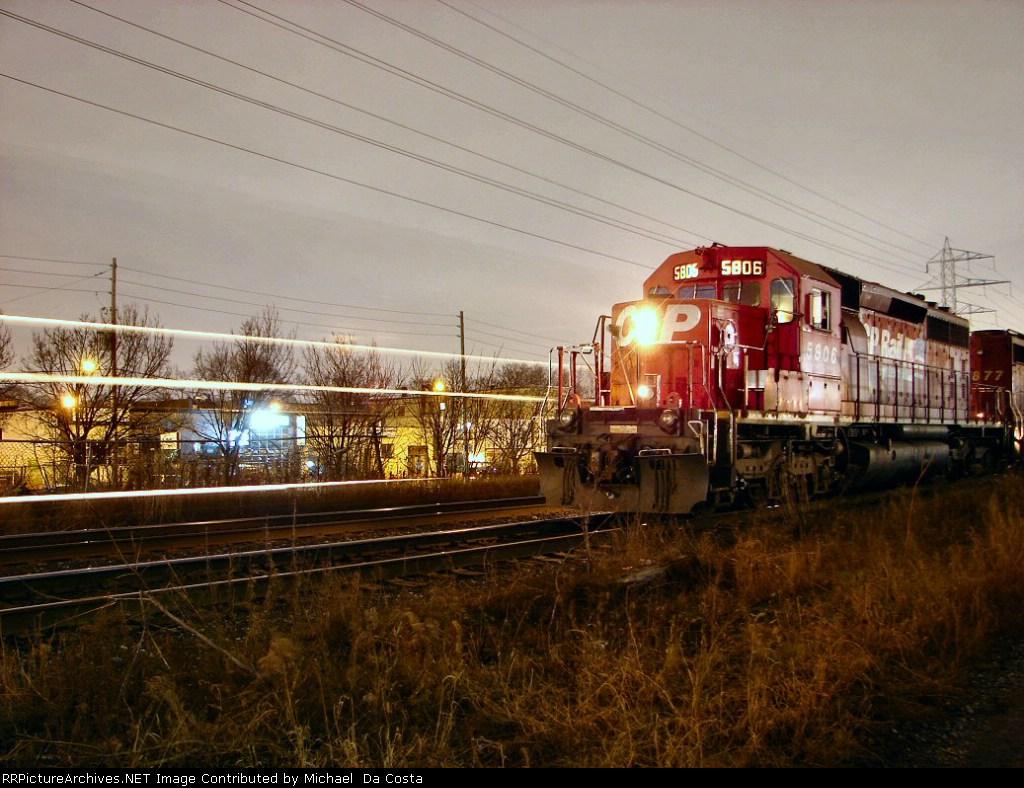 CP SD40-2 5806