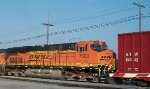BNSF 7603, engineer's side,