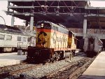 B&O-Chessie GP9 #6606 in Baltimore-Washington commuter service
