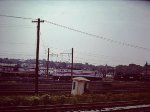 View of Ivy City from commuter train - 1977