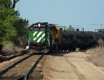 BNSF 1774 working the Holly Plant
