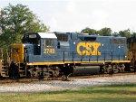CSX 2749 on a Coal Train!