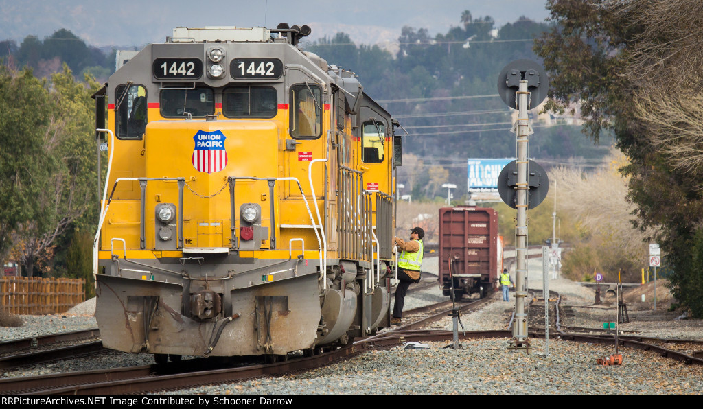 Union Pacific 1442 EMD GP40M-2R